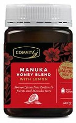 Comvita Manuka Honey Blend with Lemon - Premium 500g (Pack of 2)