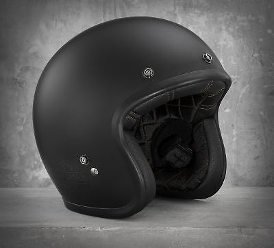 Harley-Davidson - Open Face Helmet - Eu/uk Road Legal - Bell Custom 500 - Matte