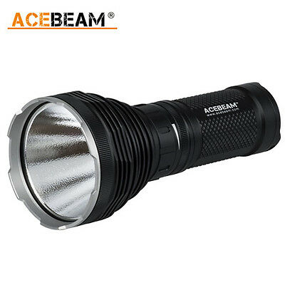 ACEBeam K60 Cree XHP70 LED 5000lm 704m Magnetic Ring Torch Black
