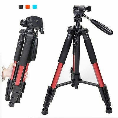 Professional Portable Aluminium Tripod Flexible & Travel Compact for DSLR Camera