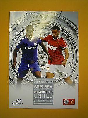 FA Community Shield - Chelsea v Manchester United - 8th August 2010