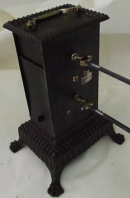 antique french clockwork roaspit jack pin spit rotisserie bbq barbecue fireplace