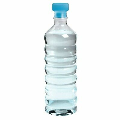 Glass Water Bottle 20 oz. - Re-Fillable Eco-Friendly Easy Grip Environmental