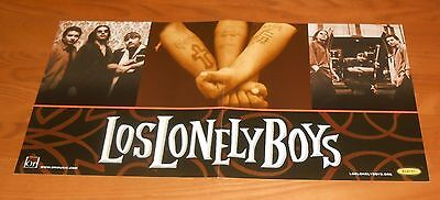 Los Lonely Boys Debut Album Poster 2-Sided Flat Square Promo 12x24