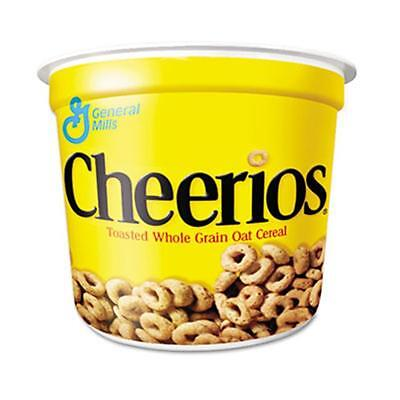 General Mills Cheerios Breakfast Cereal Single-Serve 1.3oz Cup 6 Cups-Pack