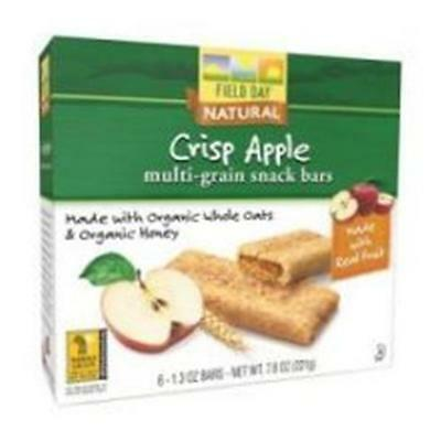 Cereal Bar Og3 Apple Fld 7.8 OZ (Pack of 6)