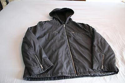 Men's Guess Black Jacket w/ Quilted Lining Size XL