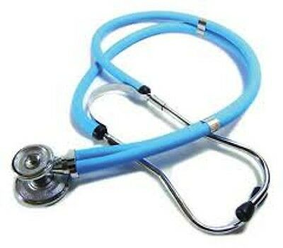 New In Box –– Light Blue Labtron Sprague-Rappaport Stethoscope #602Lb