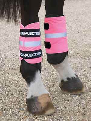 Equi-Flector Wraps - Bright Pink