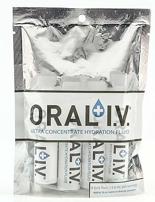 Oral IV Ultra Concentrate Hydration Fluid, 4-pack