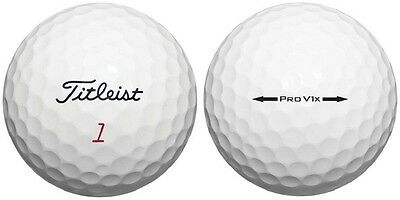 120 AAA+ Titleist Pro V1X Used Golf Balls