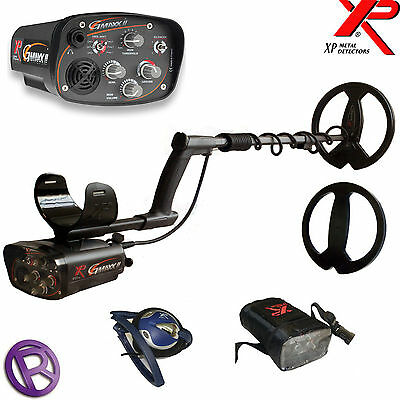 "XP Gmaxx 2 with 11"" Coil  Metal Detector 5yr Warranty!"