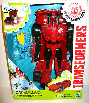 TRANSFORMERS Robots in Disguise - Power Surge Sideswipe Actionfigur HASBRO (L)