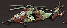 F-Toys 602357-1a Helikopter Airbus EC665 Tiger Spanien 1/144