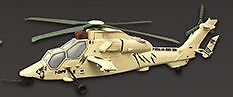 F-Toys 602357-1e Helikopter Airbus EC665 Tiger Frankreich HAD 1/144