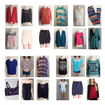 Wholesale Boutique Liquidation Lot Women's Clothing Sizes S-L FREE SHIPPING