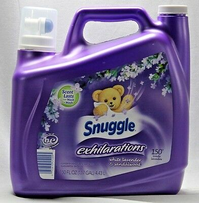 Snuggle Exhilarations Concentrated Fabric Softener White Lavender 150 oz.