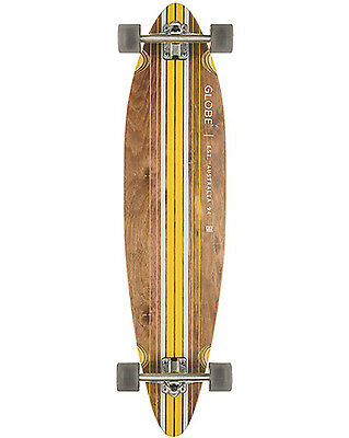 Globe Pinner Comp   Skateboard in Brown & Yellow - On Sale Now