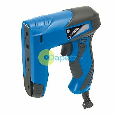 Nailer Stapler Electric Staple Nail Gun with 400 Staples & 100 Brads Corded