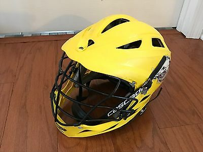 Cascade Pro 7  Lacrosse Helmet Adjustable White One Size Fits Most