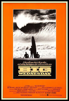 "Big Wednesday FRIDGE MAGNET 6""x8"" Jan Michael Vincent Magnetic Movie Poster"