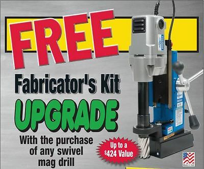 Hougen HMD904S Magnetic Drill w/FREE Chuck & Adapter & Cutter Kit Limited Qty!!!