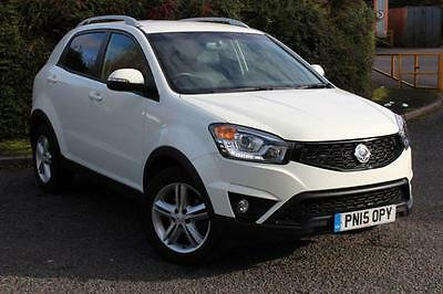 2015 SsangYong Korando 2.0 ELX 4x4 AUTO 5DR  LEATHER HEATED SEATS  ONE OWNER ...