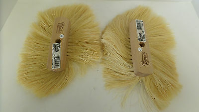Goldblatt G05260 Single Crows Foot Texture Brush Lot of 2