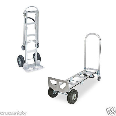 """Heavy Duty 61"""" Senior Aluminum 2-In-1 Convertible Hand Truck, Local Pickup Only"""