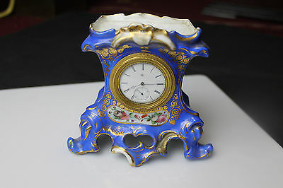 Lovely French Porcelain Miniature clock