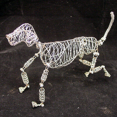 New Stainless Steel Wire Rover the Doodles Dog Movable Shapeable Sculpture