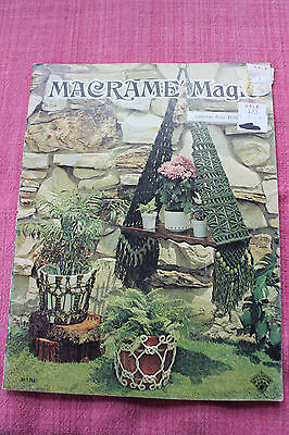 Macrame Magic by Bobi Hall 1975 Designs & Instructions Booklet