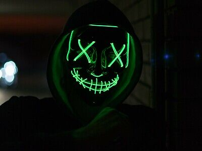 The Purge Election Year Movie Rave Mask Party Festival Halloween Costume