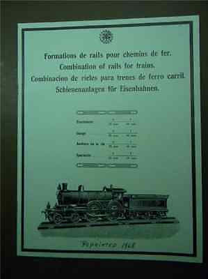 1914 Carette Trains Catalog  1 Gauge and O Gauge   1967 Albert Roth Reproduction