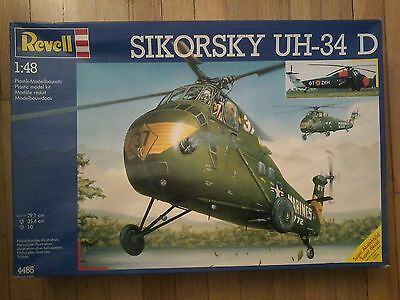 Revell Germany 1/48 Sikorsky UH-34D RCAF 108 Comm. Flt.1955 with Belcher Bits