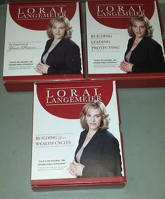 Loral Langemeier 3 Categories- 11 Discs and 1 Book, 2 Booklets