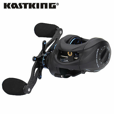 Newly Released KastKing Assassin Left/Right Hand Carbon Baitcaster Fishing Reel