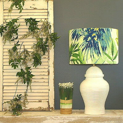 Aus Made Lamp Shade Fern, 2 Cols, 2 Sizes, 2 Fittings Made to Order 1-2 weeks