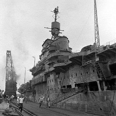 WW2 Photo WWII British HMS Formidable Royal Navy Aircraft Carrier 1941  /7119