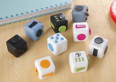 x1 New Fidget Cube Office Anxiety Attention stress relief Magic Toy in stock