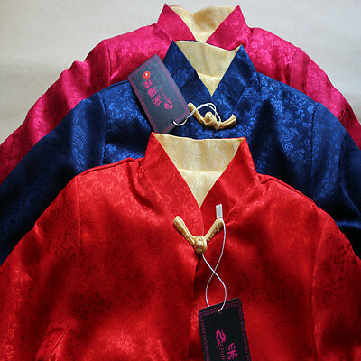 2017chinese new year reversible jacket double-faced costume for 6M-12T