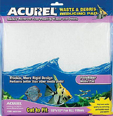 "Waste & Debris reducing pad -  18""x10"" - cut to size to fit all filters"