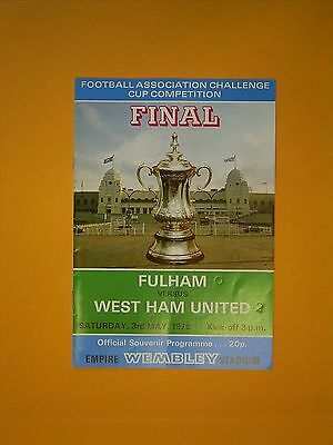 FA Cup Final - Fulham v West Ham United - 3rd May 1975