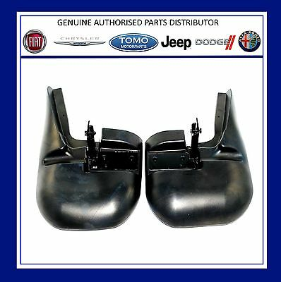 Genuine New Pair Fiat Ducato Front Mudflaps / Mud Flap Guards 2006/- 50901517