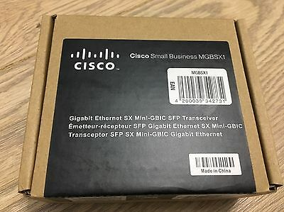 MGBSX1 Cisco Systems Gigabit Ethernet SX Mini-GBIC SFP Transceiver