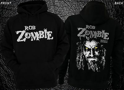 ROB ZOMBIE-Dragula-American musician and  film director, Hoodie-sizes:S to XXL