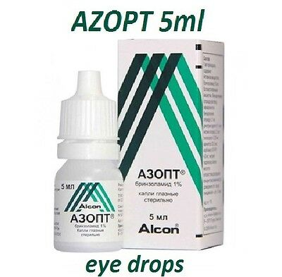 Azopt 1% eye drops 5ml