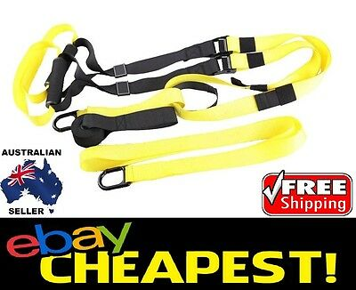 Suspension Trainer Kit *Upgraded* - Quality Home Gym Muay Thai. Model: 7X8TRX9A