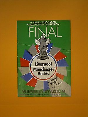 FA Cup Final - Liverpool v Manchester United - 21st May 1977