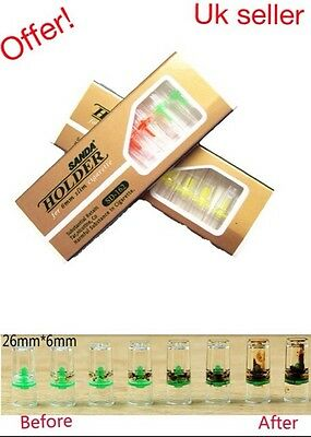 100 cigarette filter tips for 6mm roll up cigarette, Remove upto 90% Tar